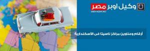 ارقام و عناوين مراكز ناسيتا في الاسكندرية